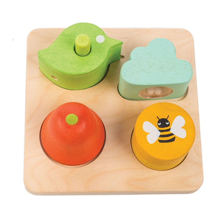 Slika za  Tender Leaf Toys® Didaktična igračka  za sluh Audio Sensory Tray
