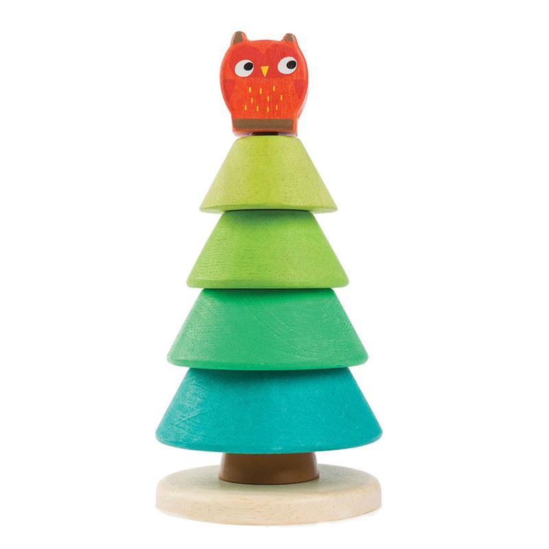 Slika za Tender Leaf Toys® Didaktična igračka Jelka Stacking Fir Tree