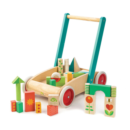 Slika za  Tender Leaf Toys® Didaktička hodalica Baby Block Walker