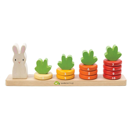 Slika za Tender Leaf Toys® Didaktička igračka Mrkvice Counting Carrots
