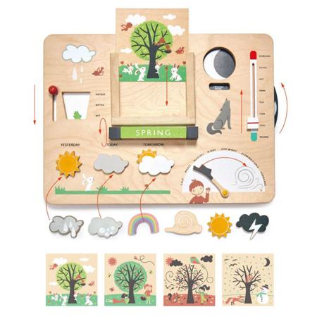 Tender Leaf Toys® Didaktična igračka Vreme Weather Watch