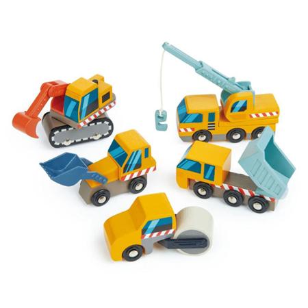 Slika za  Tender Leaf Toys® Građevinska vozila Construction Site