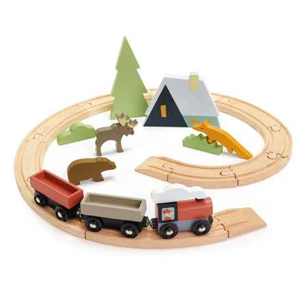 Slika za  Tender Leaf Toys® Željeznica Treetops Train Set