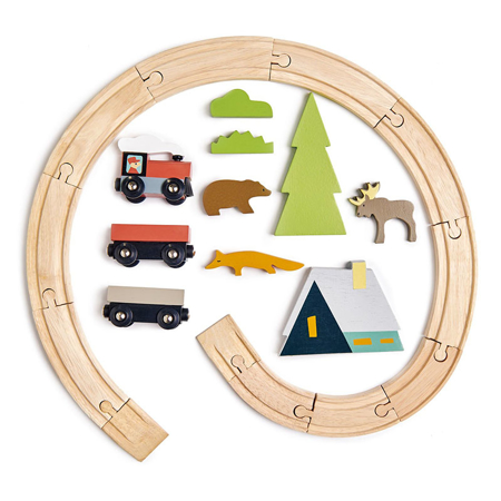 Tender Leaf Toys® Željeznica Treetops Train Set