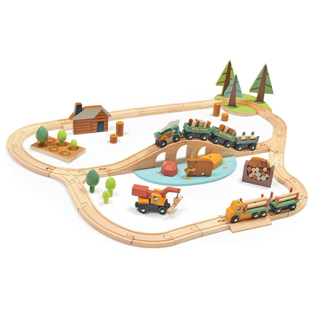 Slika za Tender Leaf Toys® Željeznica Wild Pines Train Set