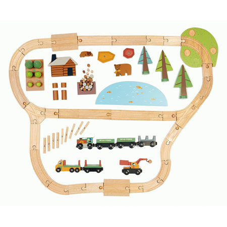 Tender Leaf Toys® Željeznica Wild Pines Train Set