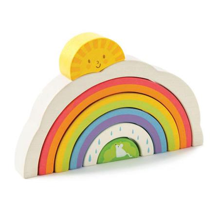 Slika za Tender Leaf Toys® Tunel Duge Rainbow Tunnel