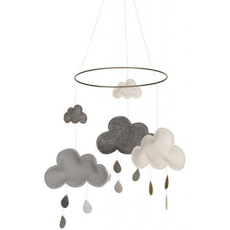 Slika za Konges Sløjd® Vrtuljak za krevetić Grey/White