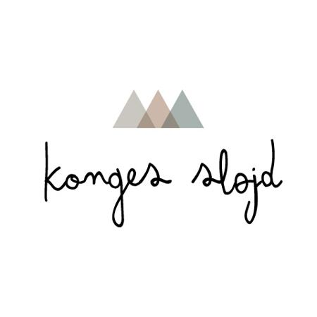 Slika za Konges Sløjd® Drveni češlji za kosu 3 kom