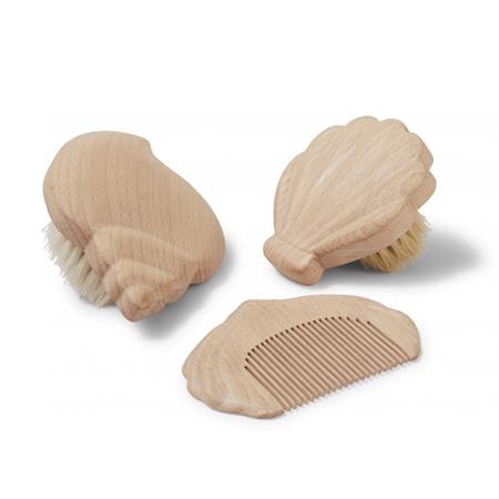 Konges Sløjd® Drveni češlji za kosu 3 kom