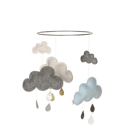 Slika za Konges Sløjd® Vrtuljak za krevetič Blue/White