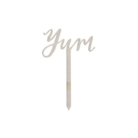 Slika za Ginger Ray® Leseni okraski za slaščice Yum 6 kosov