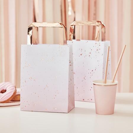 Slika za  Ginger Ray® Vrečice za darove Pink Ombre Watercolour 5 komada