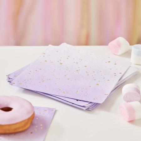 Slika za  Ginger Ray® Papirne salvete Lilac Ombre 16 komada