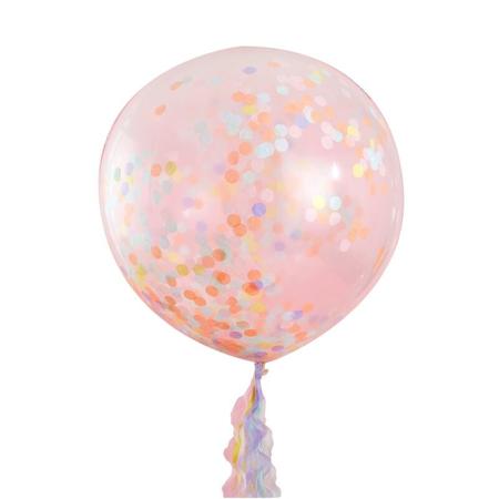 Slika za Ginger Ray® Veliki baloni s konfetima Pastel Party 3 kosi