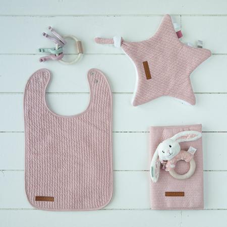 Slika za Little Dutch® Pamučni podbradnjak Pure Pink