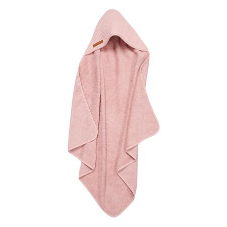 Slika za Little Dutch® Ručnik s kapuljačom Pure Pink 75x75