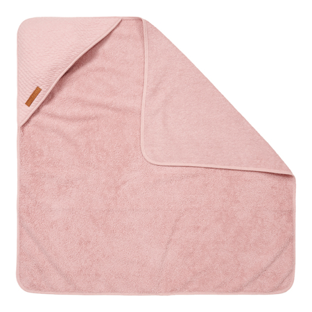 Little Dutch® Ručnik s kapuljačom Pure Pink 75x75