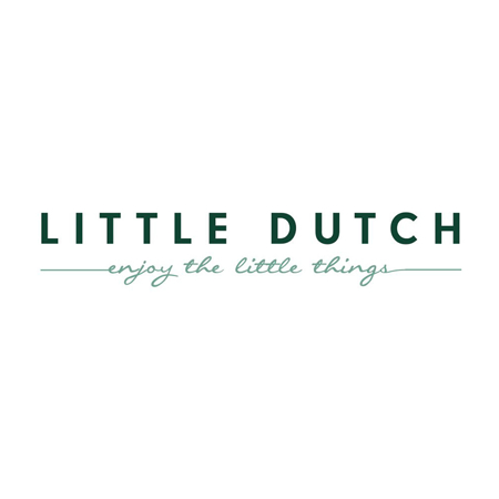 Slika za Little Dutch® Ručnik s kapuljačom Pure Grey 75x75