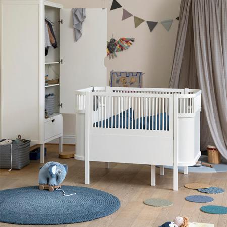 Slika za Sebra® Djećji krevetić  Sebra Classic White