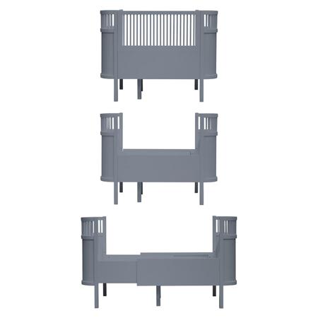 Slika za Sebra® Djećji krevetić Sebra Classic Grey