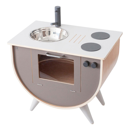 Slika za  Sebra® Drvena dječja kuhinja Warm Grey