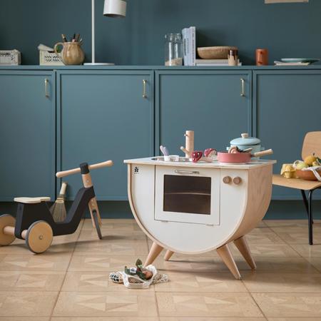 Sebra® Drvena dječja kuhinja Classic White