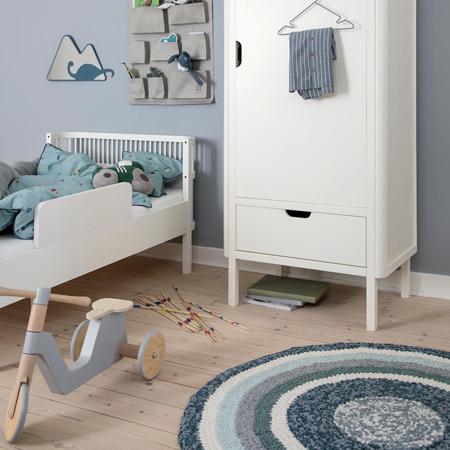 Sebra® Sigurnosna ogradica za krevetić Sebra Classic White