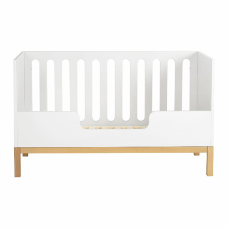 Quax® Sigurnosna ogradica za dječji krevetić Indigo 140x70 White