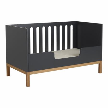 Quax® Sigurnosna ogradica za dječji krevetić Indigo 140x70 Moonshadow