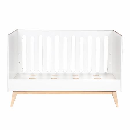 Quax® Dječji krevetić Trendy 140x70 White