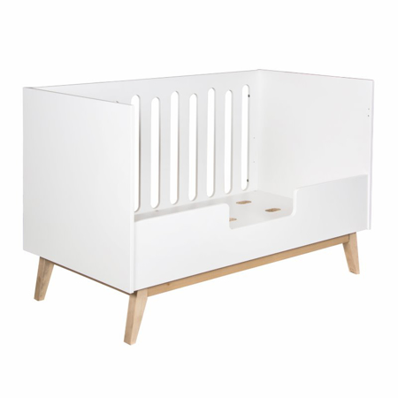 Quax® Sigurnosna ogradica za dječji krevetić Trendy 140x70 White