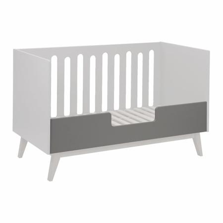 Slika za Quax® Sigurnosna ogradica za dječji krevetić Trendy 140x70 Griffin Grey
