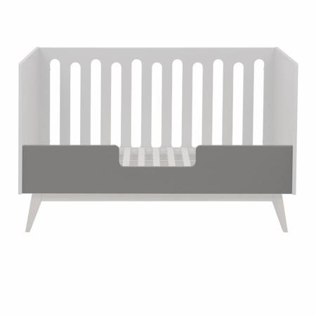 Quax® Sigurnosna ogradica za dječji krevetić Trendy 140x70 Griffin Grey