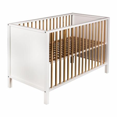 Quax® Dječji krevetić Nordic 120x60 White