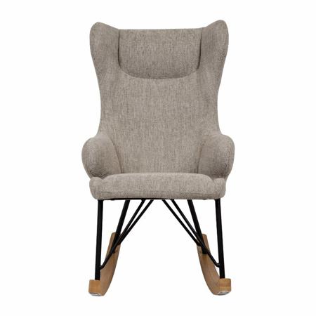 Quax® Dječja ljuljačka stolica De Luxe Sand Grey