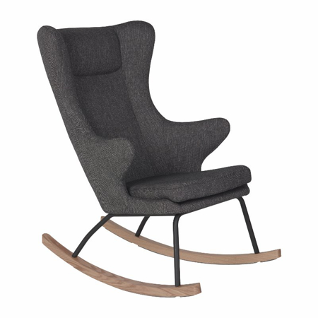 Slika za Quax® Ljuljačka stolica za odrasle De Luxe Black