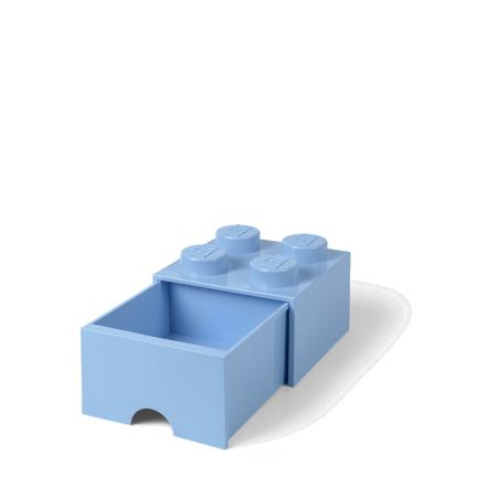 Slika za Lego® Kutija za pohranjivanje s ladicama 4 Light Royal Blue