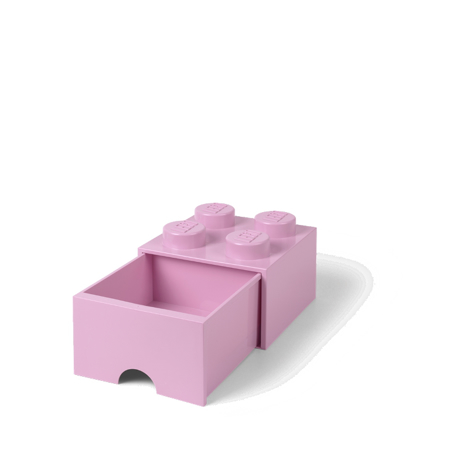 Slika za Lego® Kutija za pohranjivanje s ladicama 4 Light Purple