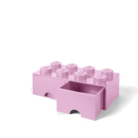 Lego® Kutija za pohranjivanje s ladicama 8 Light Purple