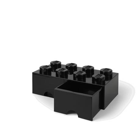 Slika za Lego® Kutija za pohranjivanje s ladicama 8 Black