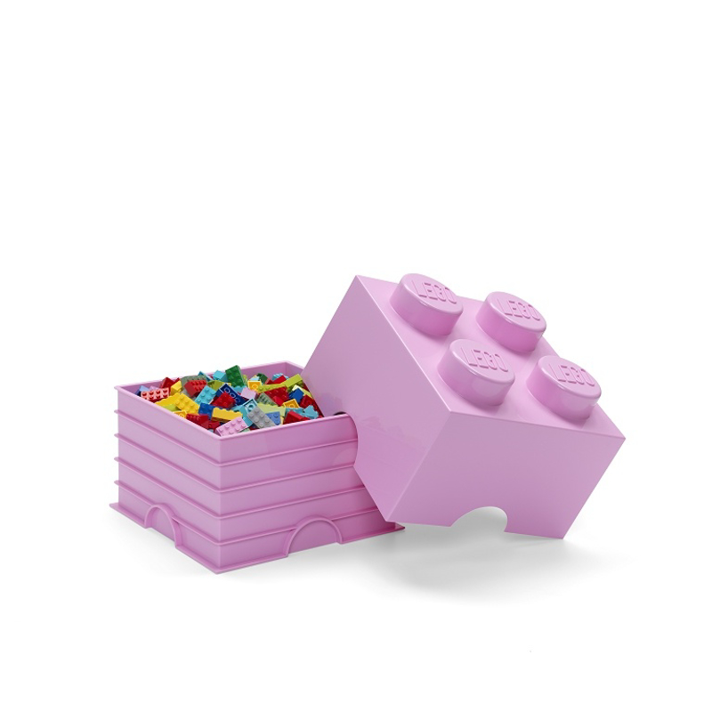 Slika za Lego® Kutija za pohranjivanje 4 Light Purple