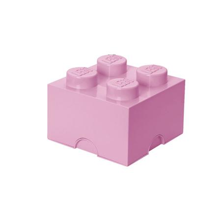 Lego® Kutija za pohranjivanje 4 Light Purple
