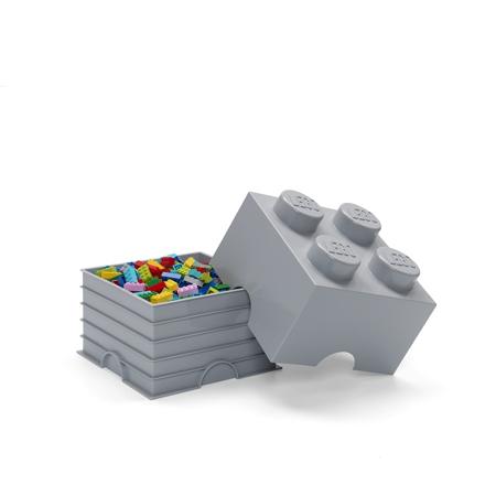 Slika za Lego® Kutija za pohranjivanje 4 Medium Stone Grey