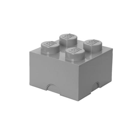 Lego® Kutija za pohranjivanje 4 Medium Stone Grey