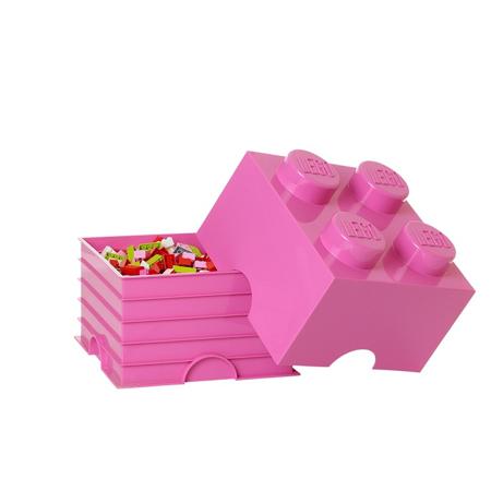 Slika za Lego® Kutija za pohranjivanje 4 Bright Purple