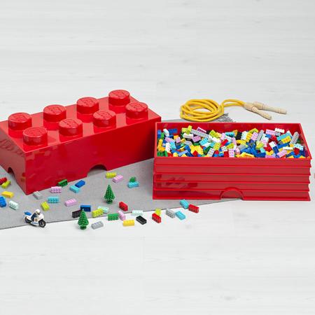 Slika za Lego® Kutija za pohranjivanje 8 Light Royal Blue