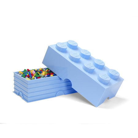 Slika za Lego® Kutija za pohranjivanje 8 Light Royal Blue