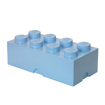 Lego® Kutija za pohranjivanje 8 Light Royal Blue