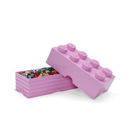 Slika za Lego® Kutija za pohranjivanje 8 Light Purple